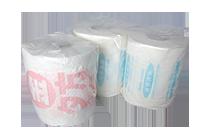 トイレットペーパーのロールにオリジナル印刷をする